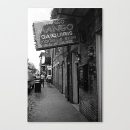 New Orleans Pub 2004 Canvas Print