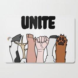 Unite Animal Equality Fists Cutting Board