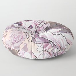 alabaster Floor Pillow