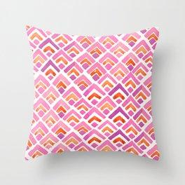 Sewatdee Pink Pattern Throw Pillow