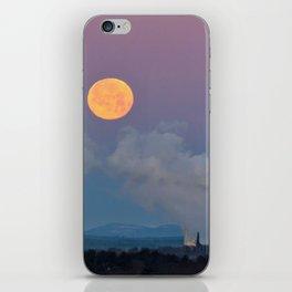 Full Moon Setting at Dawn (1) iPhone Skin