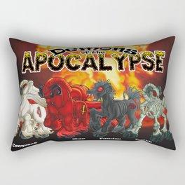 Demons of the Apocalypse Rectangular Pillow