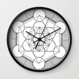 Geometric cirkel Wall Clock
