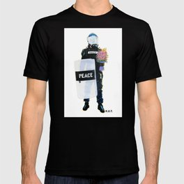 Peace Officer Movement By K.U.T. T-shirt