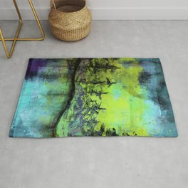Take A Hike - Forest - Abstract Rug