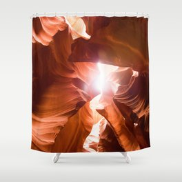 The Canyon (Color) Shower Curtain