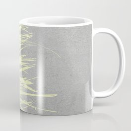 Concrete Fringe Yellow Coffee Mug