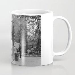 New York Basketball III Coffee Mug