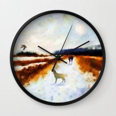 LANDSCAPE - Broadland walk Wall Clock