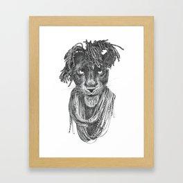 Pantherasta Framed Art Print