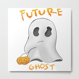We are all future ghosts Metal Print