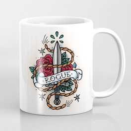 Rogue - Vintage D&D Tattoo Coffee Mug
