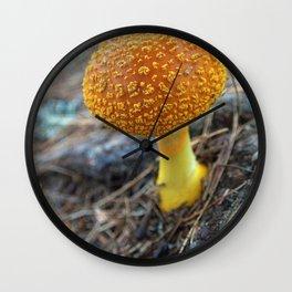 Mushroom E Wall Clock