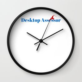 Top Desktop Assessor Wall Clock