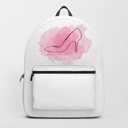 Pink Shoe Backpack