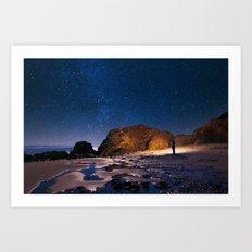 Night Adventurer Art Print
