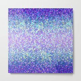 Glitter Graphic Background G105 Metal Print
