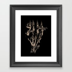 In The Deep of Island Framed Art Print