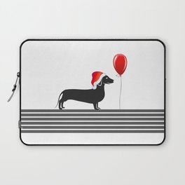 Dog With Hat Laptop Sleeve