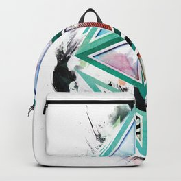 Ethereum Logo Abstract 01 Backpack