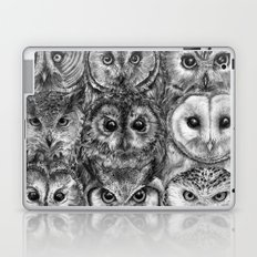 Owl Optics BW Laptop & iPad Skin