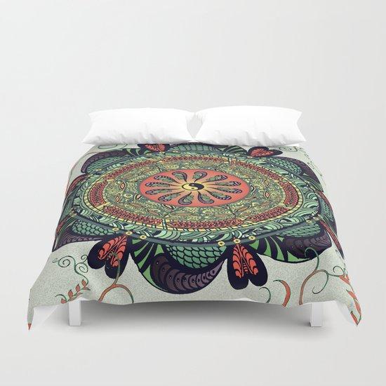 812 Multicolor Mandala Duvet Cover