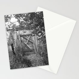 """Door to the deep down """"LIME"""" Stationery Cards"""