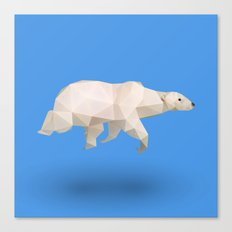 Polar Bear. Canvas Print
