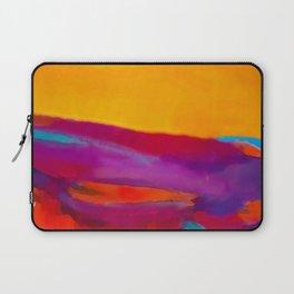 Arizona Sunset in a Pop Art abstract style Laptop Sleeve