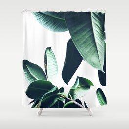 Ficus Elastica #26 #foliage #decor #art #society6 Shower Curtain