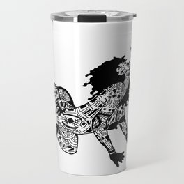Smokin' maze Travel Mug