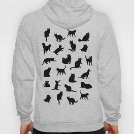 Crazy Cat Love Pattern Hoody