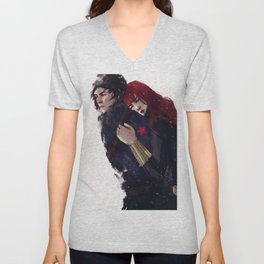 WinterWidow III Unisex V-Neck