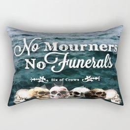 No Mourners - White Rectangular Pillow