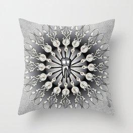 Finch Moon Throw Pillow