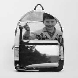 A Proud Catch Backpack