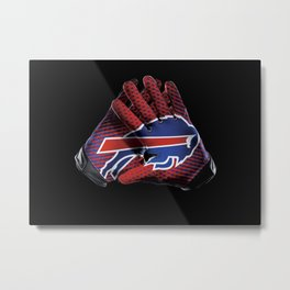 Buffalo Gloves Metal Print