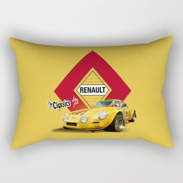 AMARILLO · Renault Alpine Rectangular Pillow