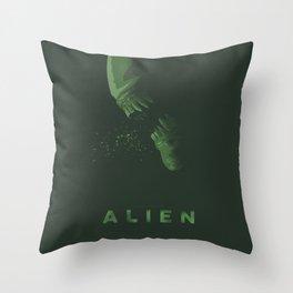 Alien (II) Throw Pillow