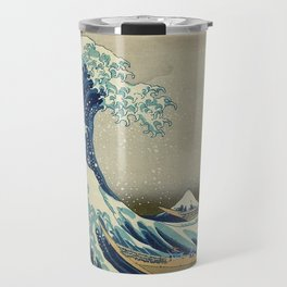 The Great Wave Off Katara Travel Mug