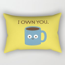 Coffee Talk Rectangular Pillow