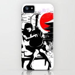 Japanese guitar girl Kyoto Tokyo iPhone Case