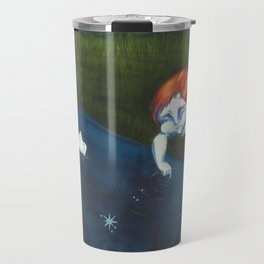 Fishes and stars Travel Mug