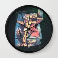 jesus Wall Clocks featuring Jesus by Ibbanez