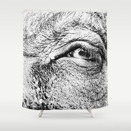 Look at me! Shower Curtain