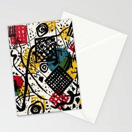 Kleine Welten V (Small Worlds V) by Wassily Kandinsky Stationery Cards