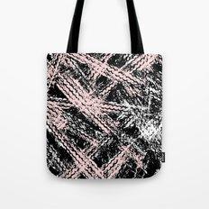 Desert Tracks Pink Tote Bag