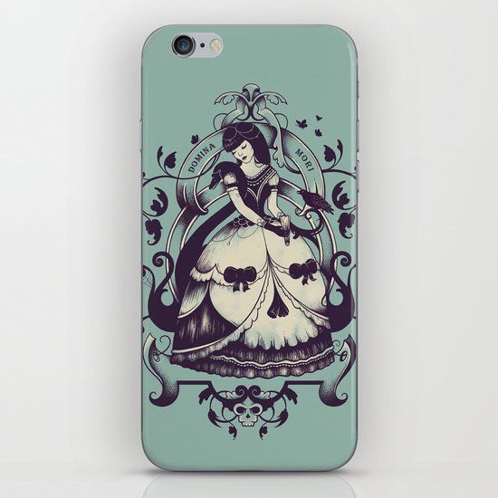 Mrs. Death iPhone & iPod Skin