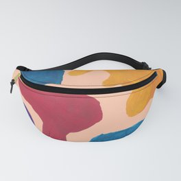 17 | 190330 Abstract Shapes Painting Fanny Pack