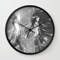 castlevania Wall Clocks featuring castlevania by Oxxygene